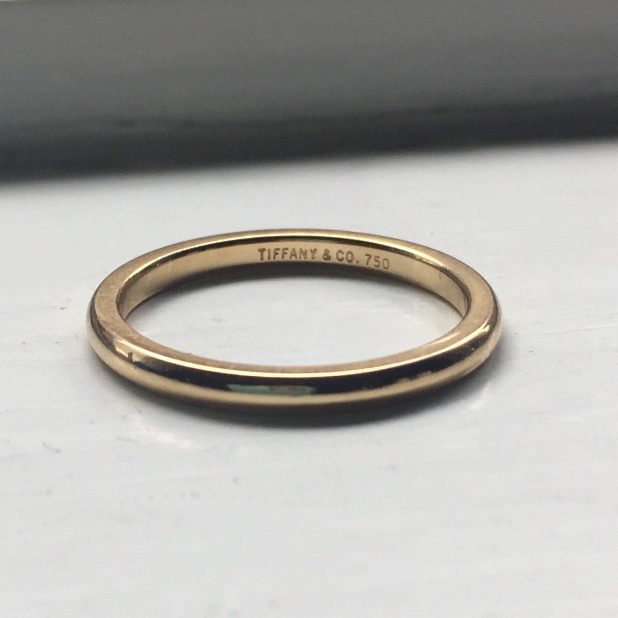 2fdeb6e1d Vintage Tiffany & Co band, just listed and part of our Spring Sale! 🌟💙🌈