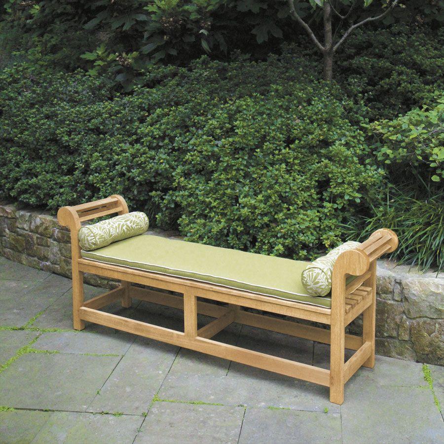 Teak Lutyens Backless Bench Lutyens Benches Teak Wood Backless Lutyens Bench Country Casual Jardim