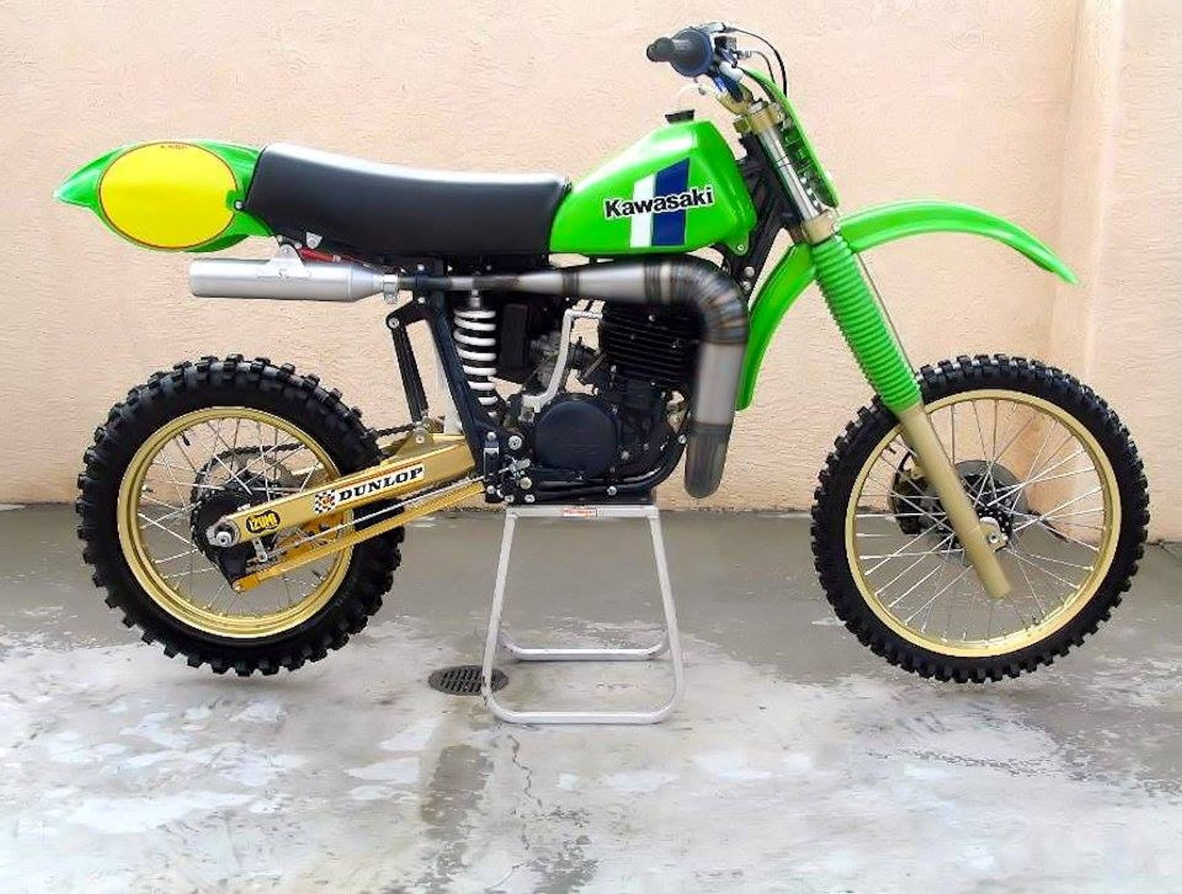 Kawasaki Sr 500 1981 Dave Thorpe Vintage Racing Bike Retro Bike Vintage Bicycles Vintage Motocross