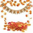 Famoby Happy Fall Pumpkin Burlap Banner And Maple Leaf Garland Confetti For Harv #Holiday #leafgarland Famoby Happy Fall Pumpkin Burlap Banner And Maple Leaf Garland Confetti For Harv #Holiday #leafgarland
