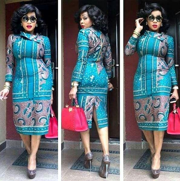 Modele Robe Pagne Nigerian