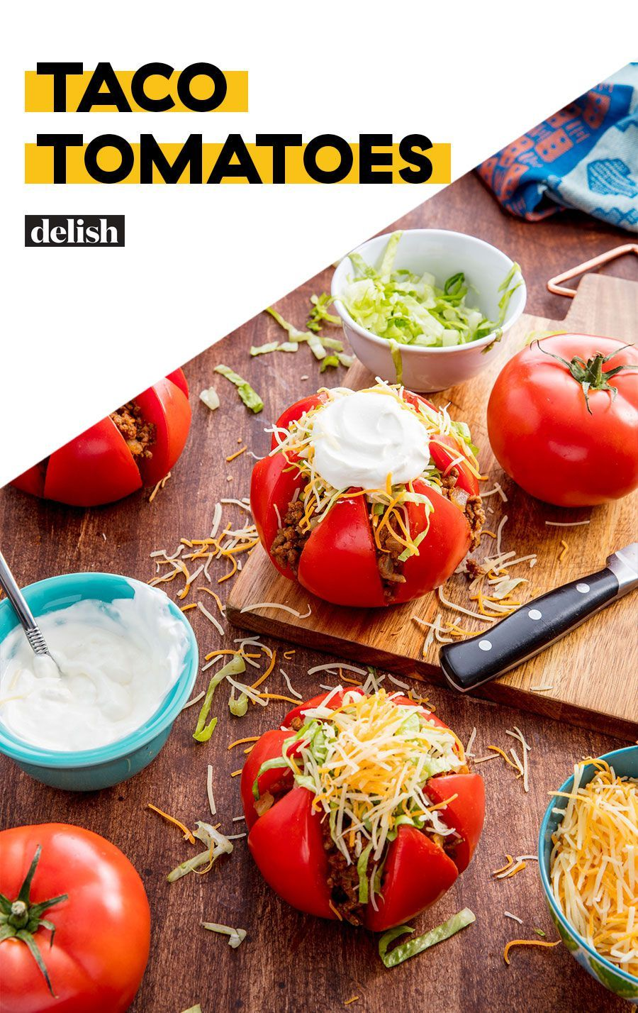 Taco Tomatoes Recipe Food Food Recipes Low Carb Recipes