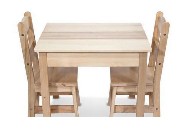 Google+ | Wooden table and chairs, Kids wooden table