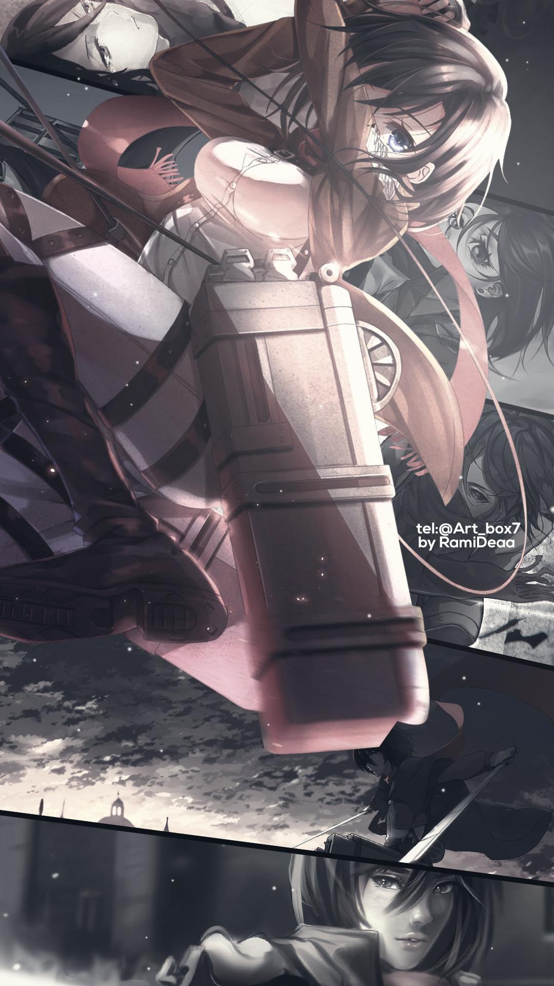 mikasa エレミカ, 三笠, 進撃の巨人