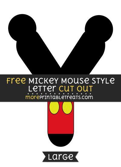 mickey printables free