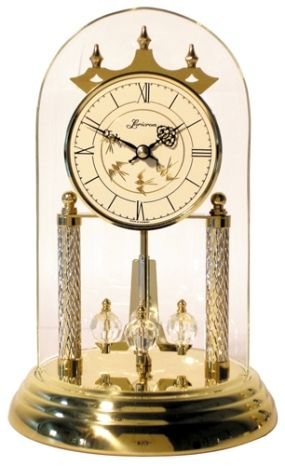Diamond Milled Anniversary Clock By Loricron Retired