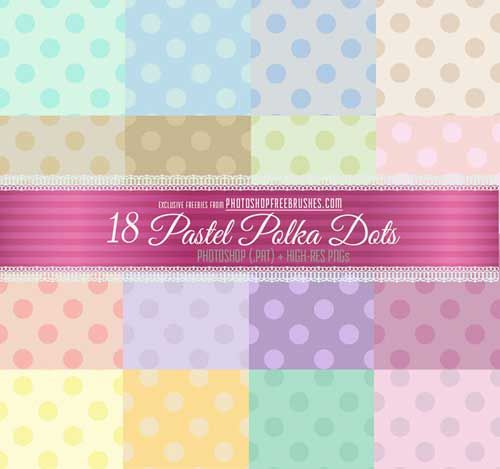 250 Free Polka Dot Background Patterns