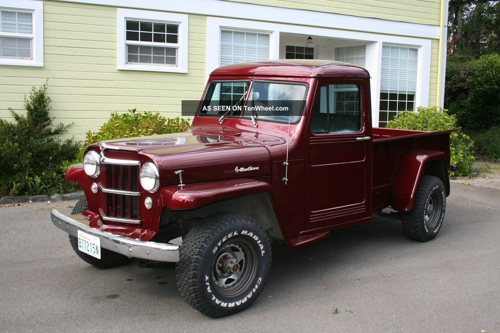 Gallery for jeep willys truck restoration image