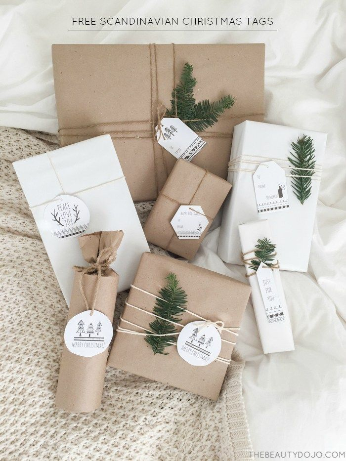 Revisiting the basics: stylish ways to wrap gifts in brown paper