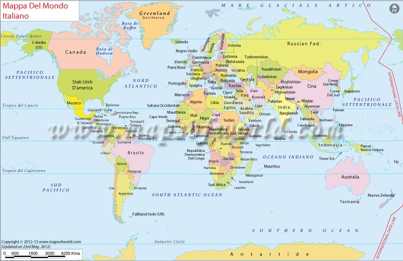 Mappa del mondo world map in italian language maps pinterest mappa del mondo world map in italian language gumiabroncs Choice Image