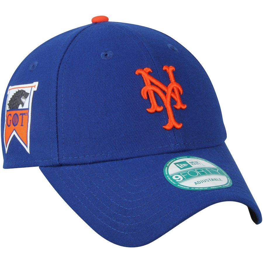0013a362c57 Men s New York Mets New Era Royal Game of Thrones 9FORTY Adjustable ...