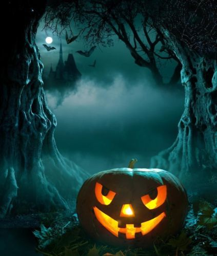 Halloween Pumpkins Art Oil Painting Hd Print Picture On Canvas L077 Ebay Halloween Wallpaper Halloween Backgrounds Halloween Images
