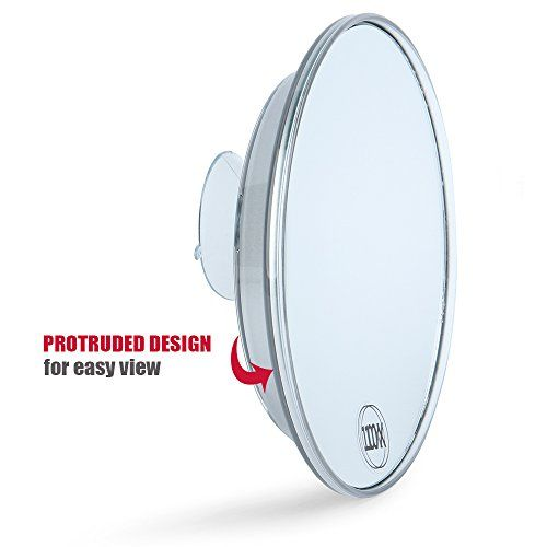 Catmicoo 10x Magnifying Mirror With 3 Large Suction Cups 6 With