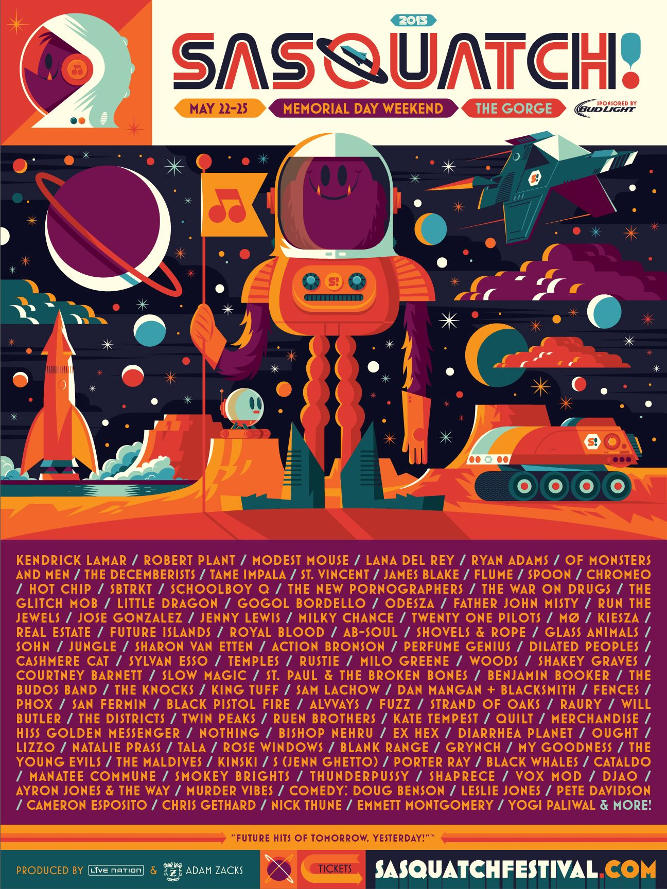 Music Festival Posters 2016