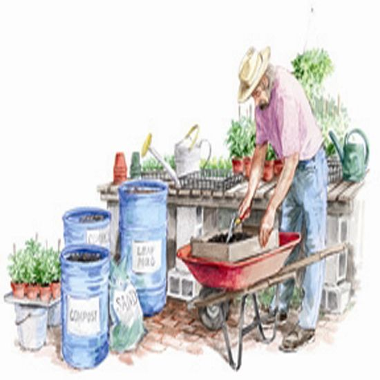 Creating Our First Vegetable Garden Advice Please: How To Make Your Own Potting Soil