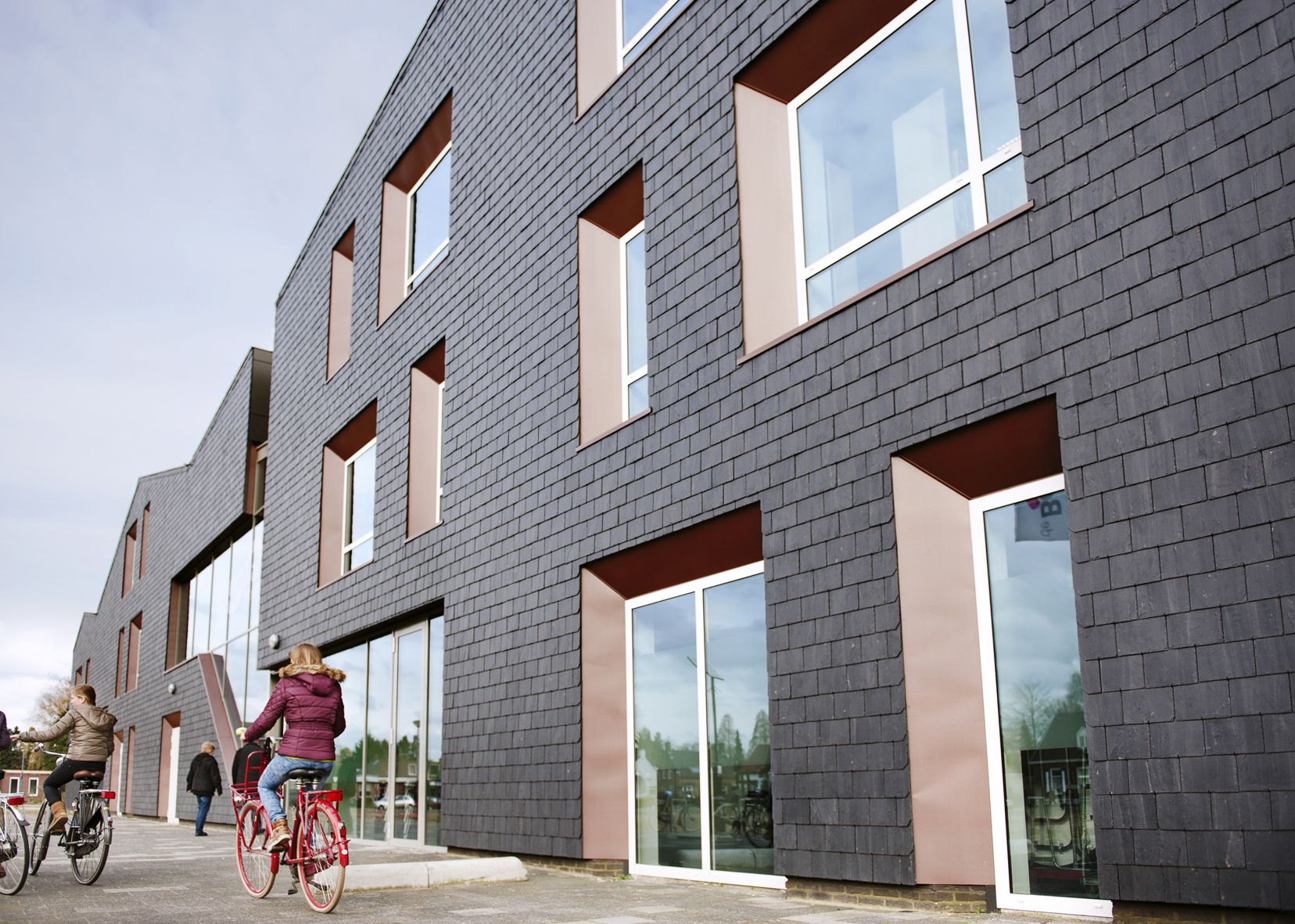 Dorpscentrum De Berchplaets Te Berghem Fotografie Madeleine Sars Architectuur Architecten