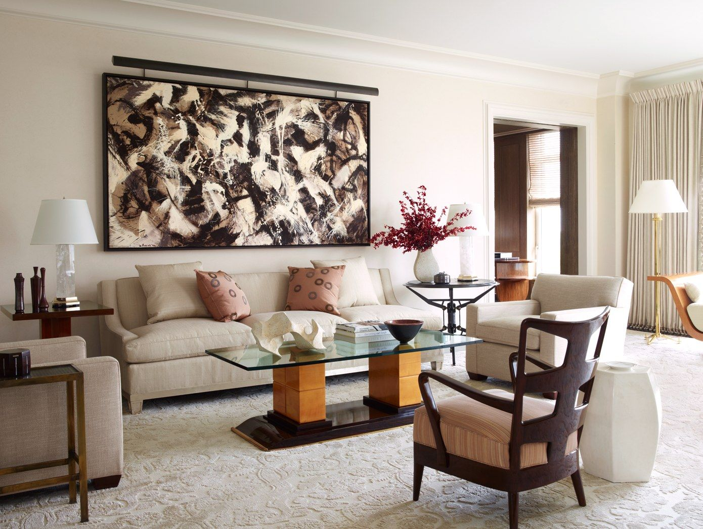 A New York City Apartment Made Over by David Kleinberg