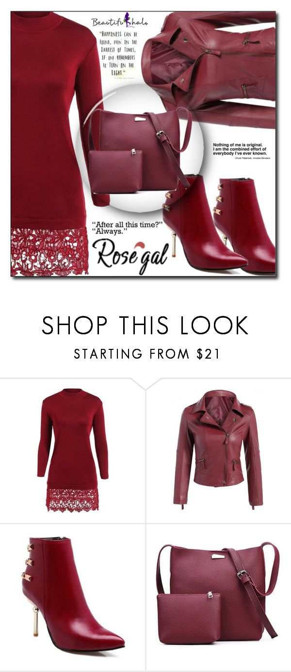 """""""Rosegal 78"""" by aida-ida ❤ liked on Polyvore featuring vintage"""