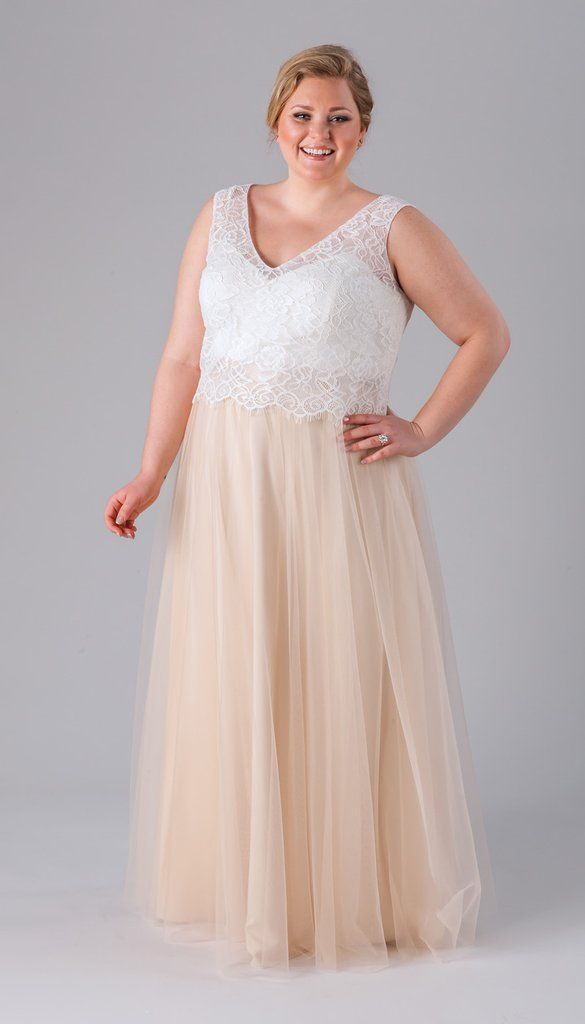 Incredibly Flattering Plus Size Bridesmaid Dresses ...
