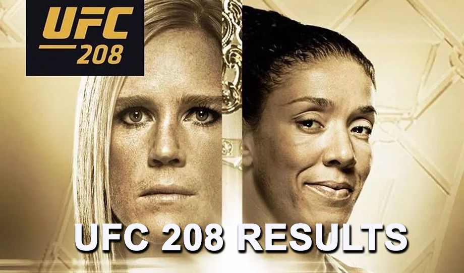 Live! UFC 208 Results And PlayByPlay! Ufc, Raiders vs