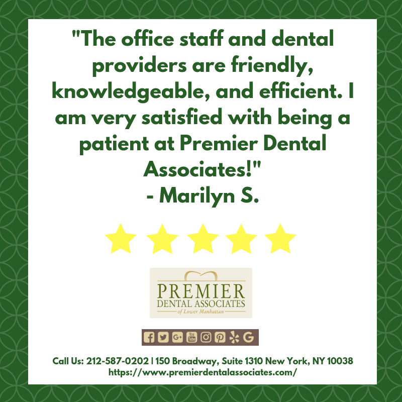 Our patients' dental health is our number one priority!