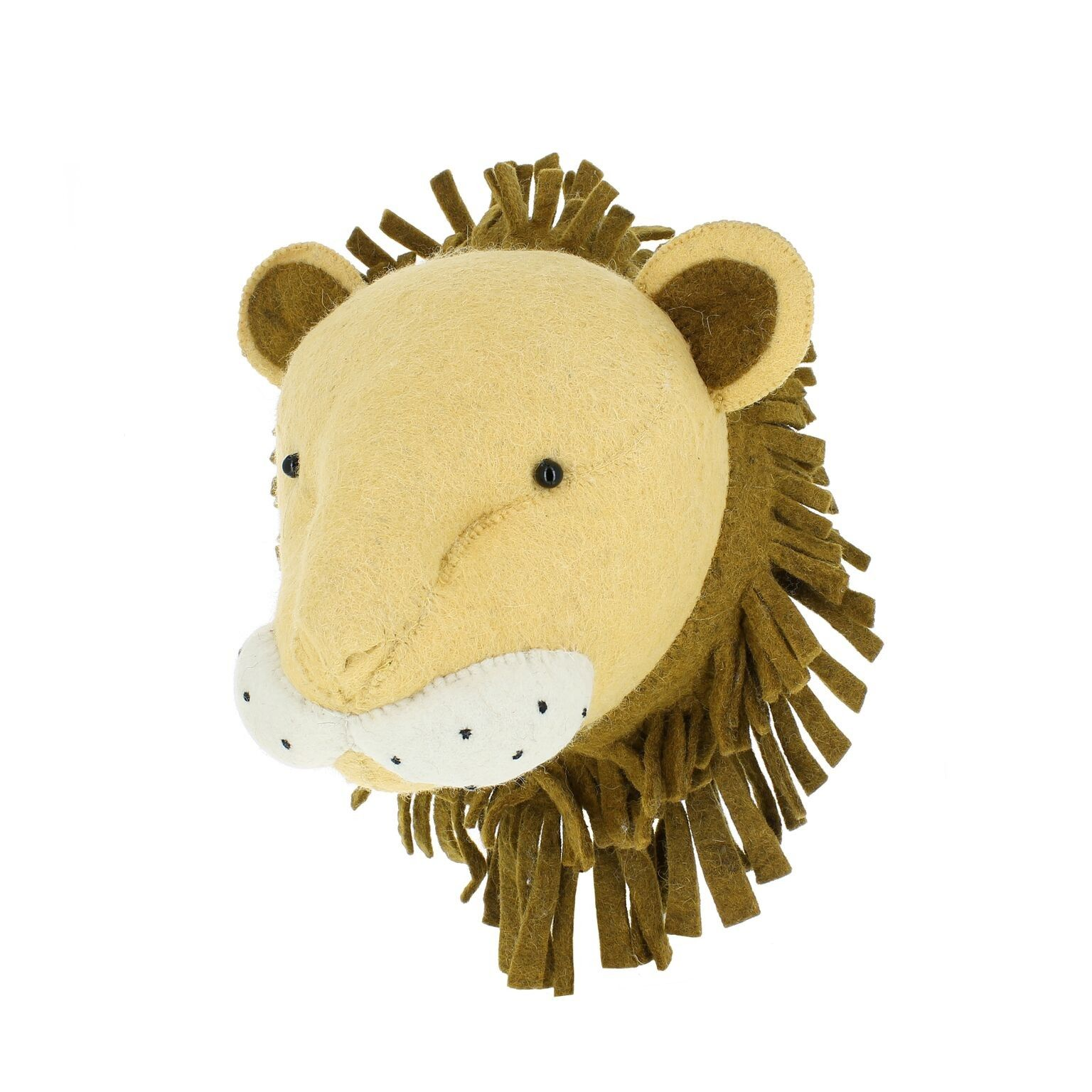 Fiona Walker Lion Head | Kids Animal Heads | Pinterest | Playroom ...