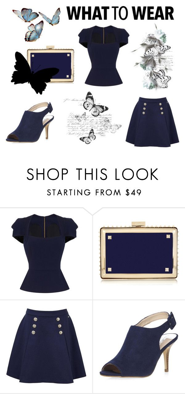 """""""What To Wear"""" by bwjos on Polyvore featuring Roland Mouret, Valentino, Tommy Hilfiger and Dorothy Perkins"""