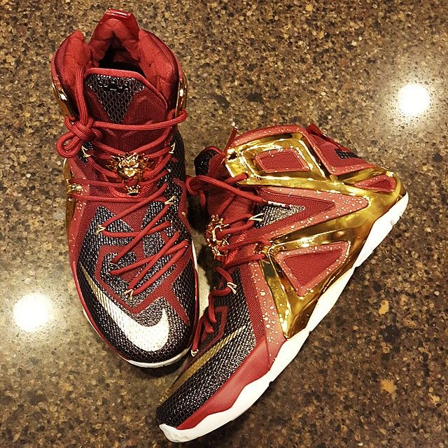 new style c97a6 efeb7 NIKEiD LeBron XII 12 Elite Crown Jewel