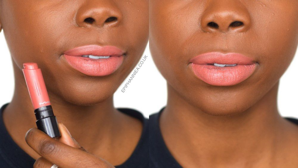 Mac Liptensity Lipstick In Smoked Almond Dark Skin Makeup