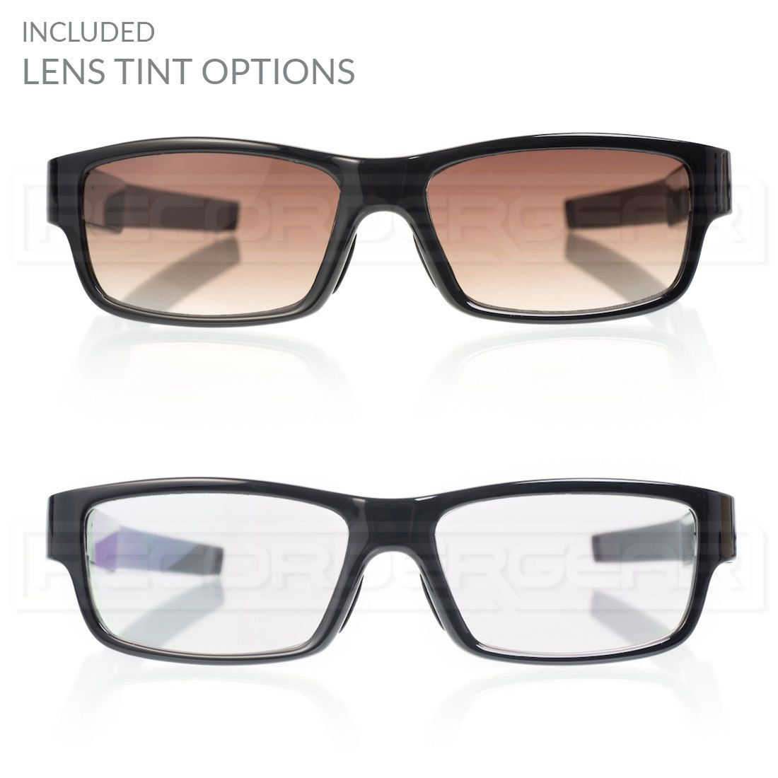 7fb04597a1 The CG1000 Camera Glasses includes optional tinted lenses More