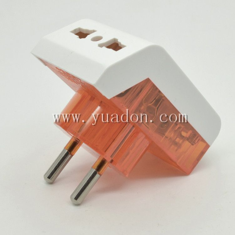 4 8mm Pin Universal Socket To Eu Converter Plug European Electrical Adapter Manufacturers Power Plug Socket Outlet Jack Power Plug Plug Socket Plugs