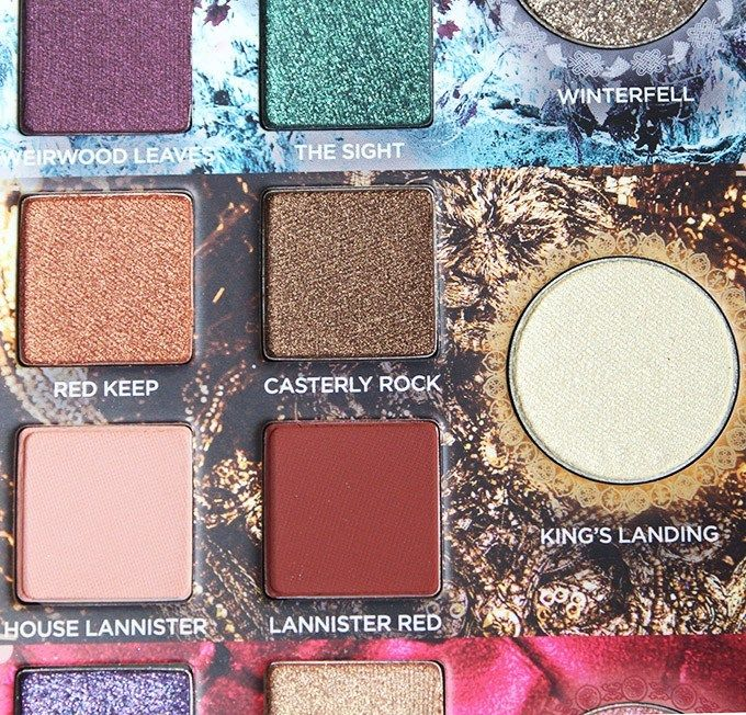 Urban Decay Game of Thrones Collection Eyeshadow Palette