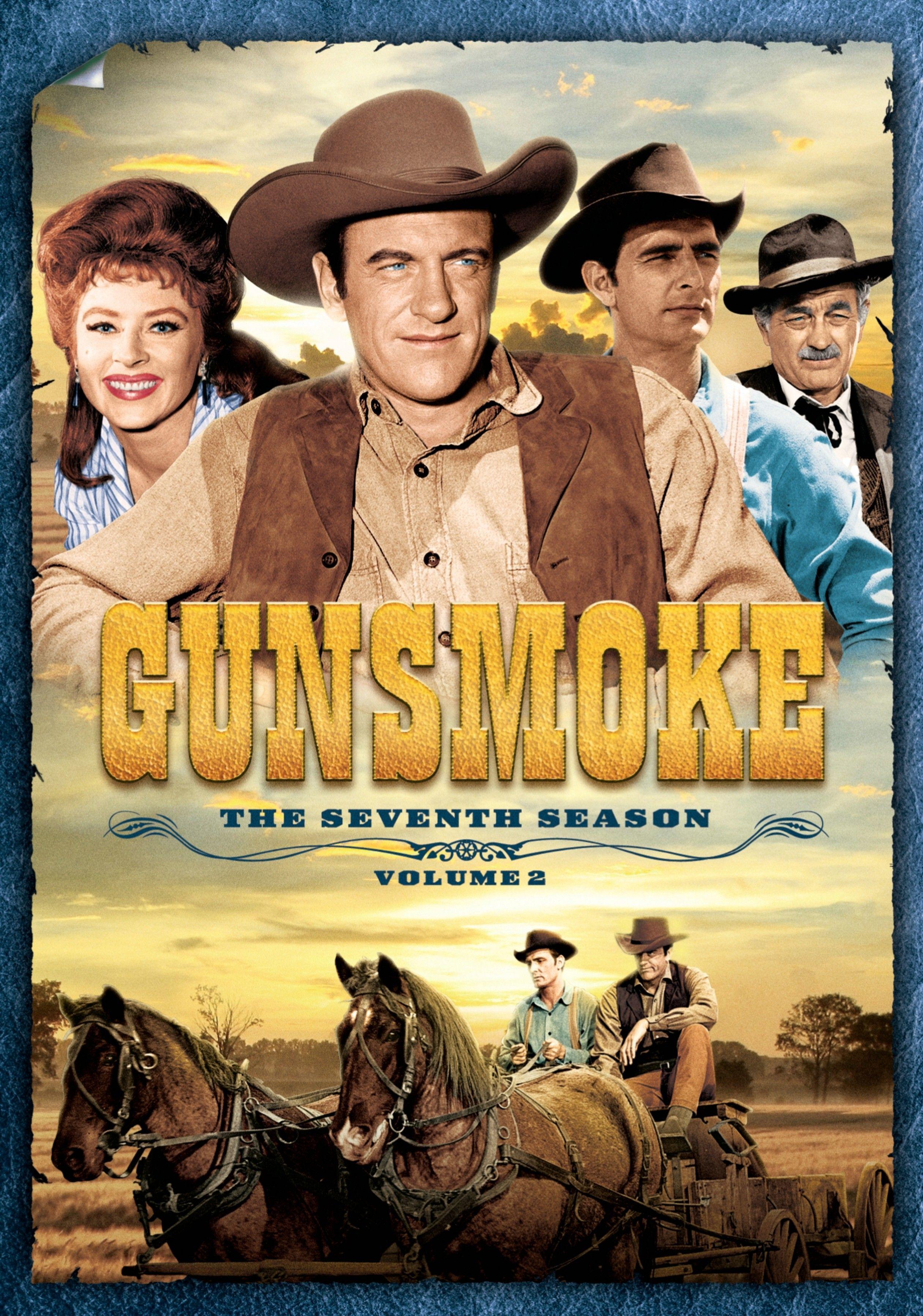 Gunsmoke, the Seventh Season Volume 2 on DVD. Gunsmoke