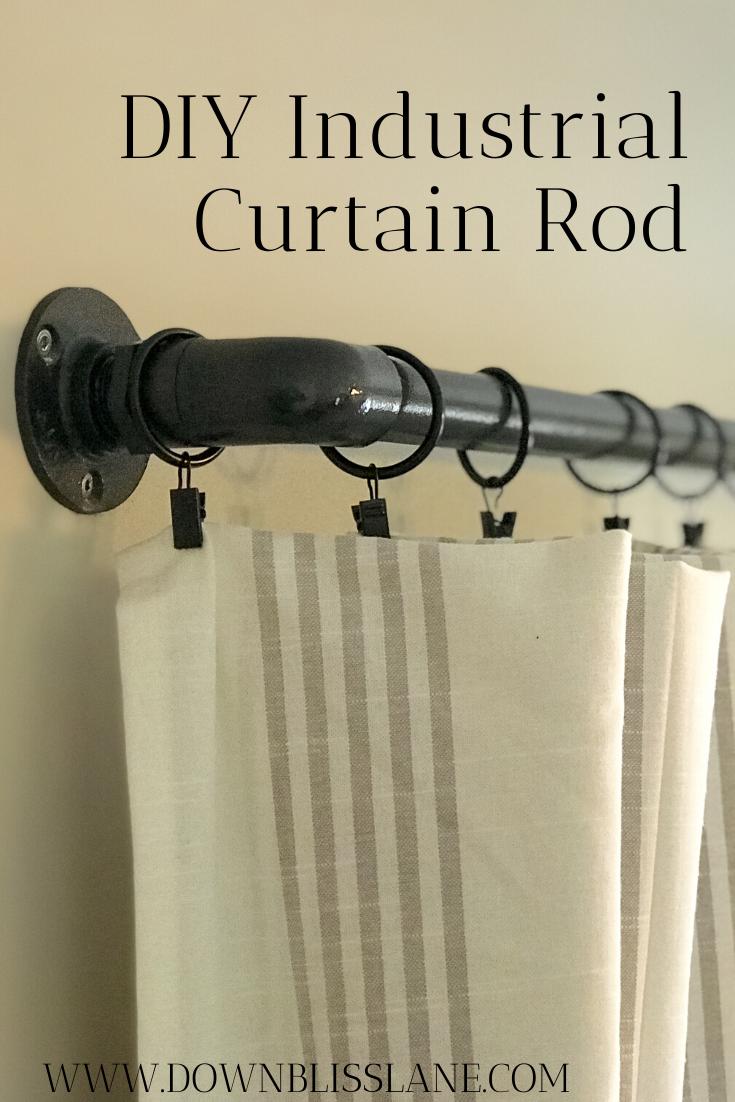 35++ Plumbing pipe curtain rod inspirations