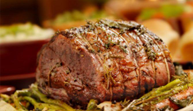 Slow roasted pork prime rib recipe
