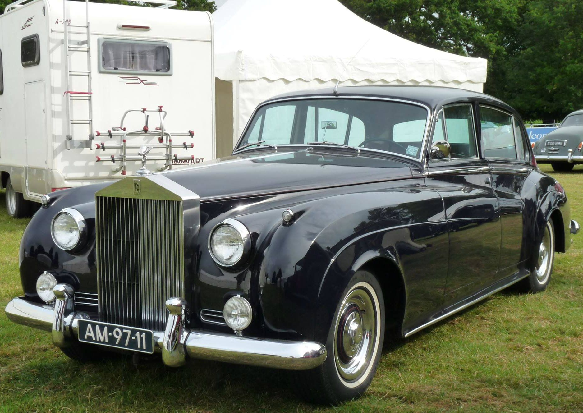 1960 Limousine By Park Ward Chassis Llca6 Rolls Royce Antique