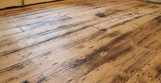 How To Restore The Old Floorboards Under Our Victorian