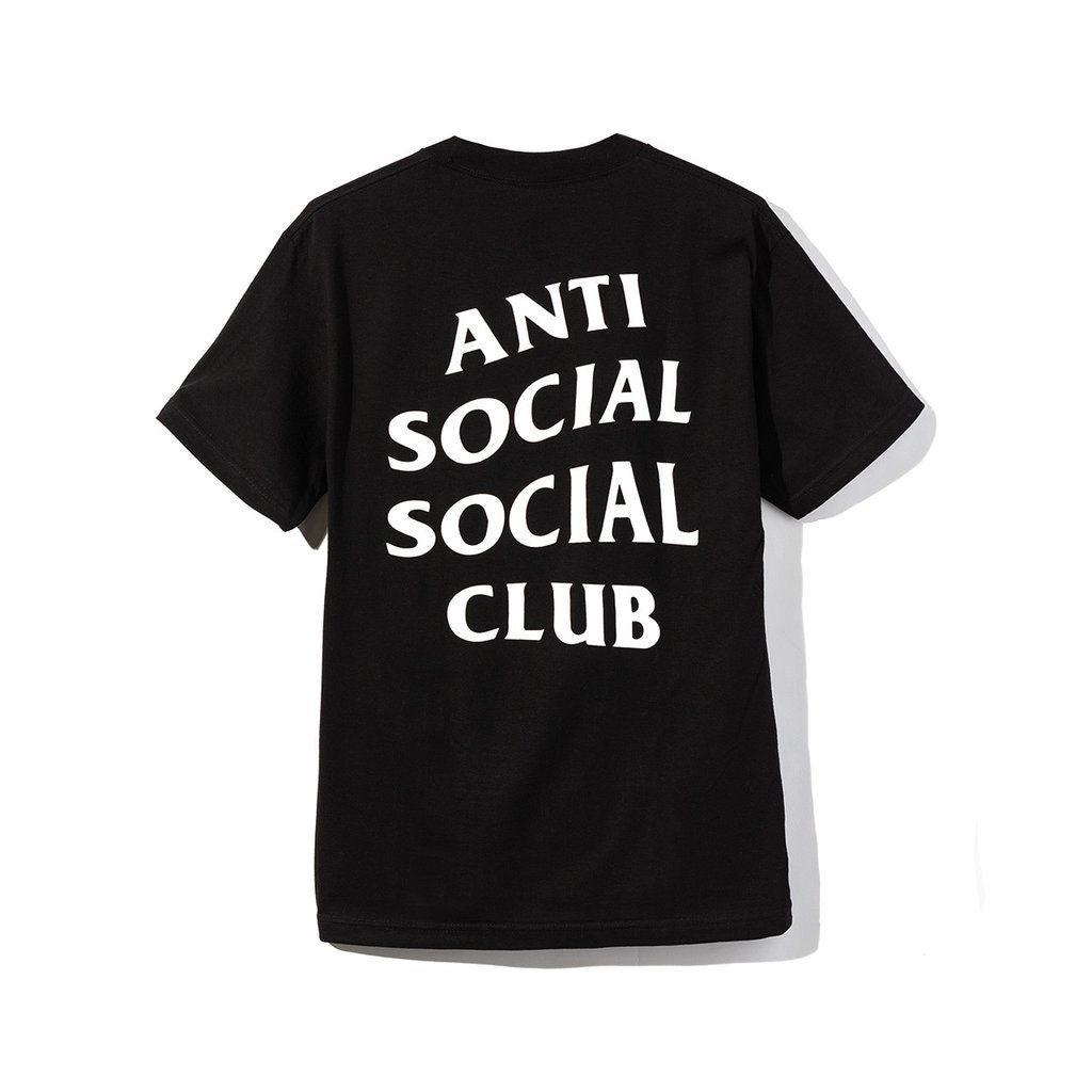 Anti Social Social Club Logo 2 Tee Ss20 Black In 2021 Anti Social Social Club Anti Social Social Club Hoodie Anti Social
