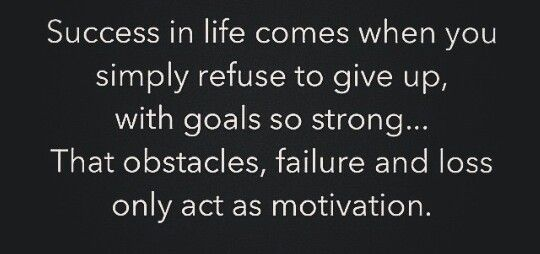 Success & motivation