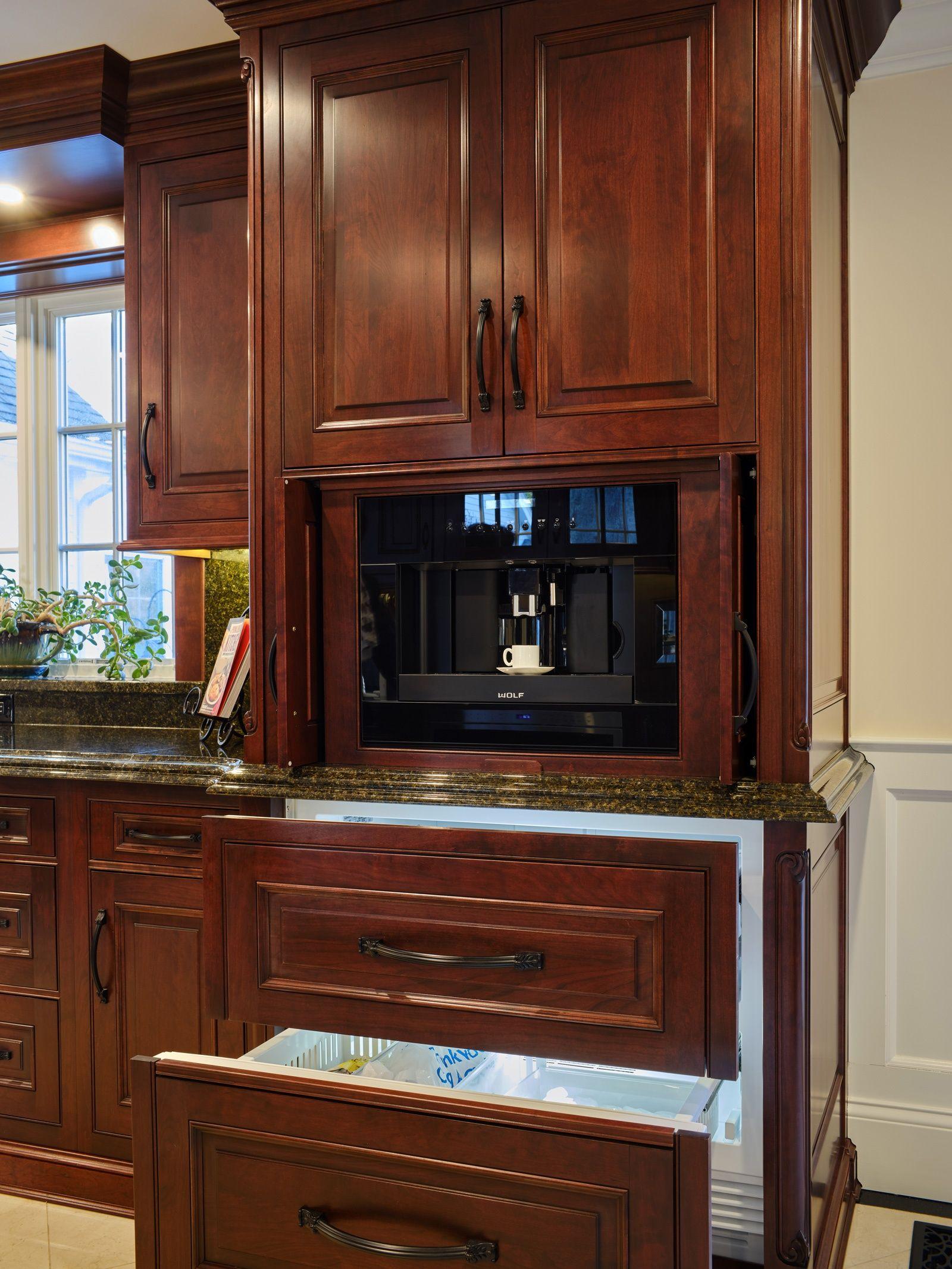 Elegant Cherry Kitchen in Westport, CT | The Kitchen ...