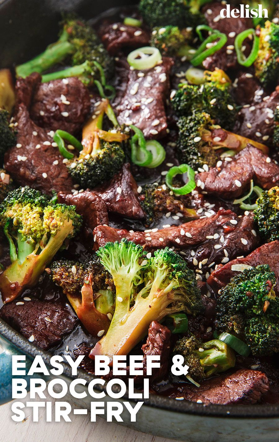 This Is Our Favorite Homemade Version Of Beef Broccoli Recipe Easy Beef And Broccoli Easy Chinese Recipes Beef Recipes Easy