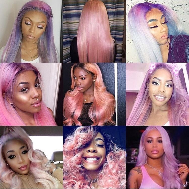 Sew In Hairstyles Fair Sew In Hairstyles For Thanksgiving 2017 Pink Hairluxeio  Sew In