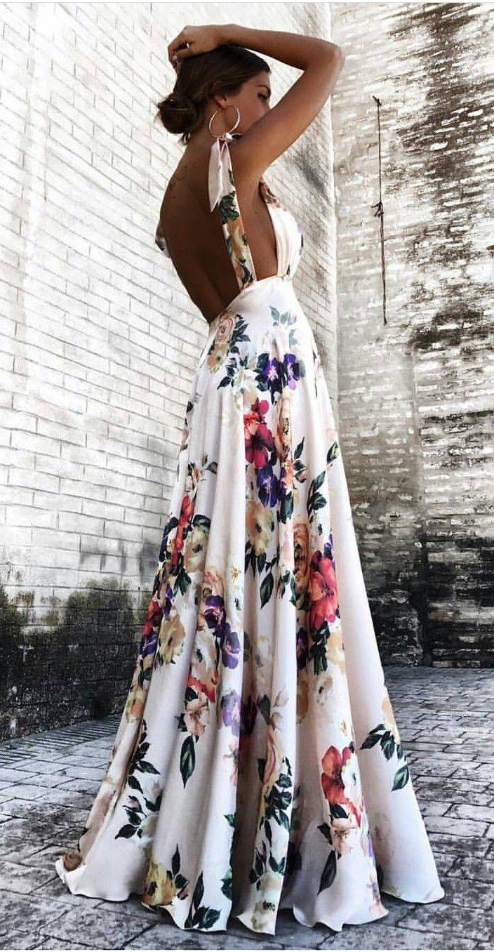 Floral maxi street stalker in pinterest dresses fashion