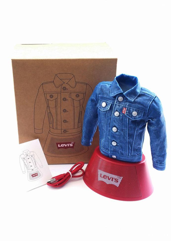 Levi's Denim Jacket 3D Figure Portable Bluetooth Speaker - Levi