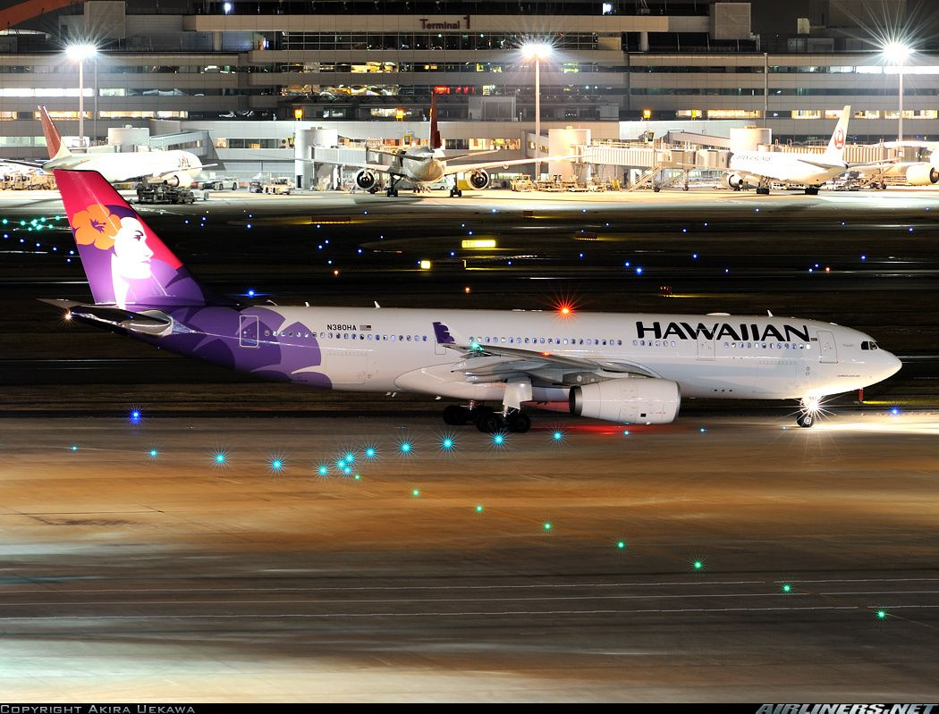 Hawaiian Airlines Airbus A330 243 All Things Aviation Pinterest