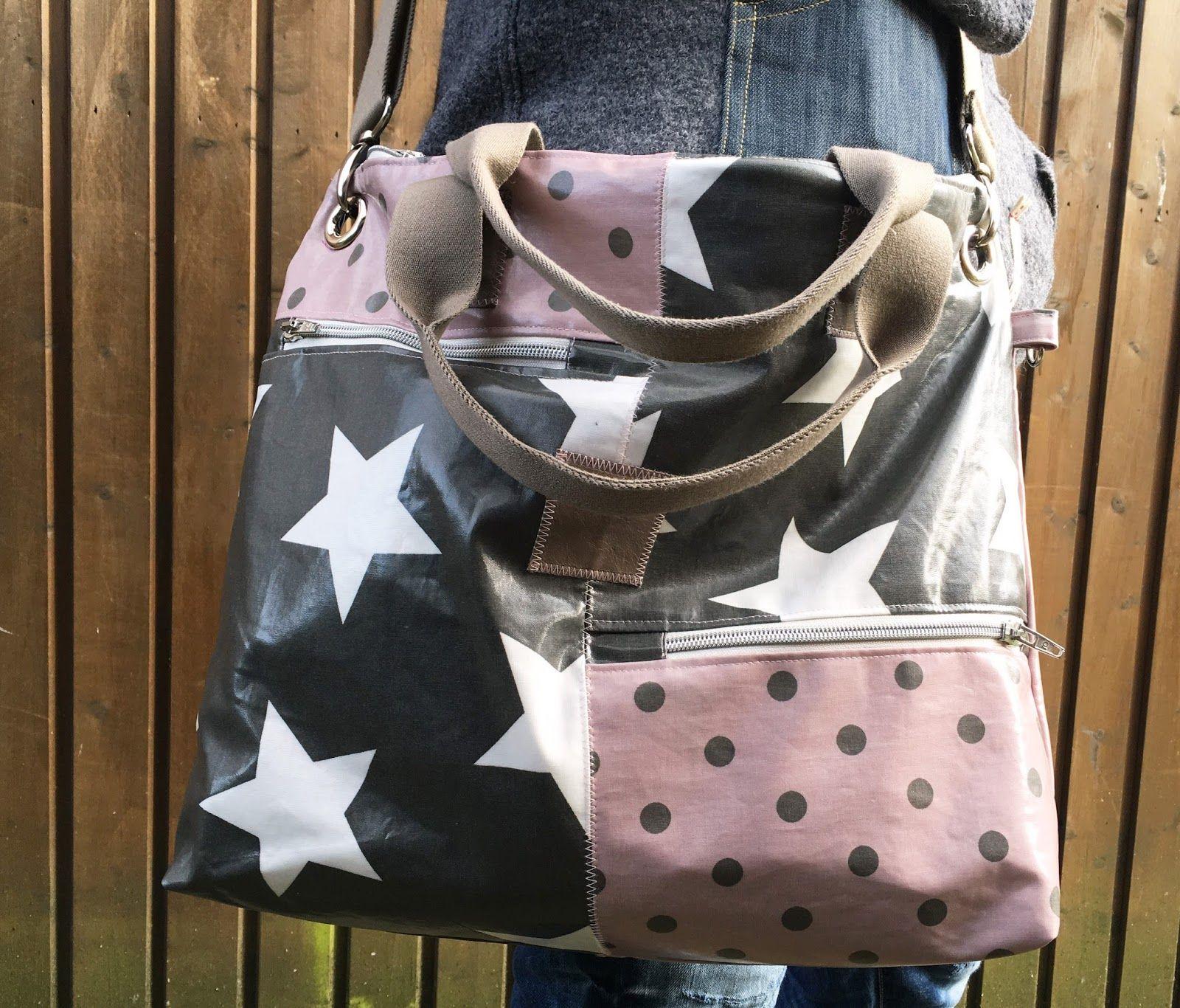 PIPPA, die coole Allroundtasche - ein Taschenschnitt | Pinterest ...