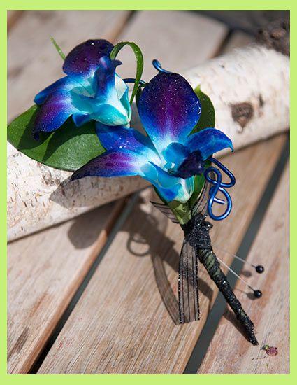 Http Www Stemsaflowershop Com Assets Images Corsages Blue Orchidbout Jpg Blue Orchid Wedding Bouquet Blue Orchid Wedding Wedding Flowers Blue Orchids