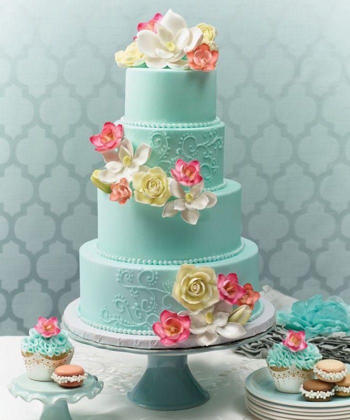 Wedding Theme Ideas Philippines: 25 Elegant Tiffany Blue Wedding Cake
