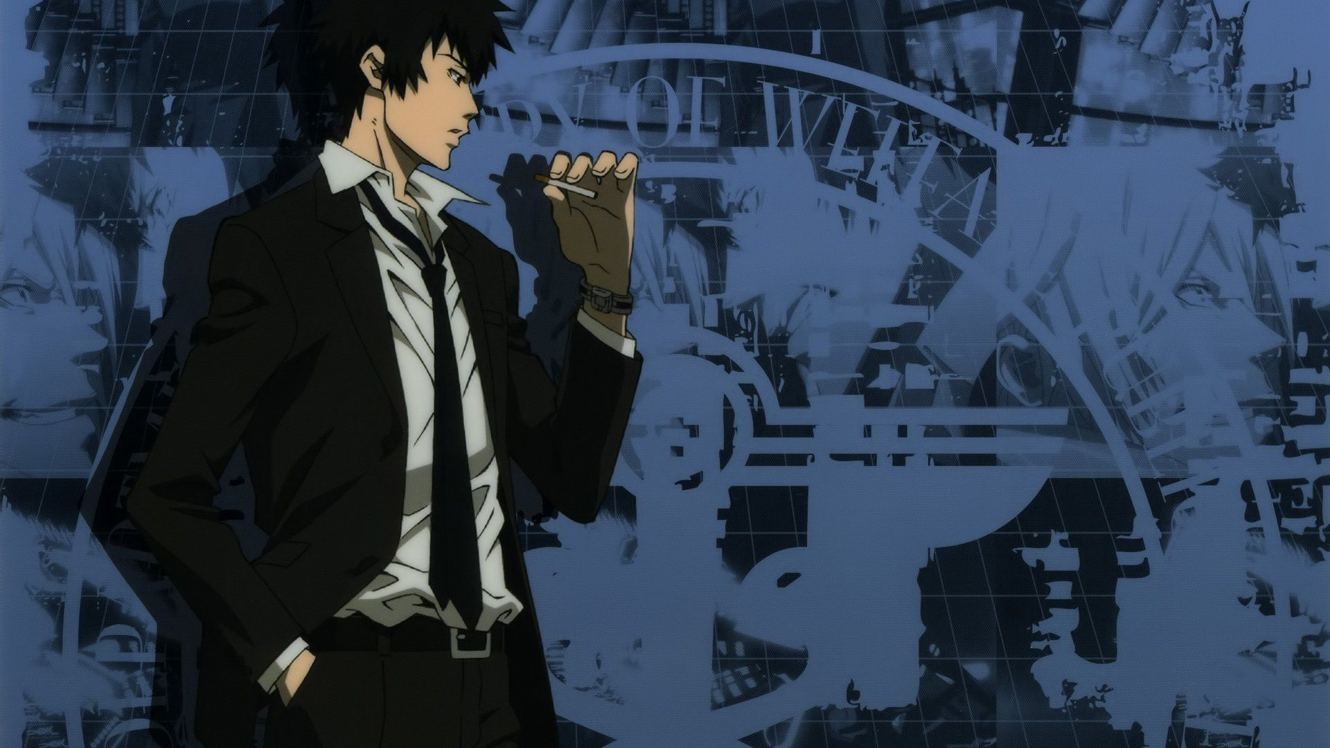 Anime Psycho Pass Shinya Kogami Wallpaper Psycho Pass Pinterest