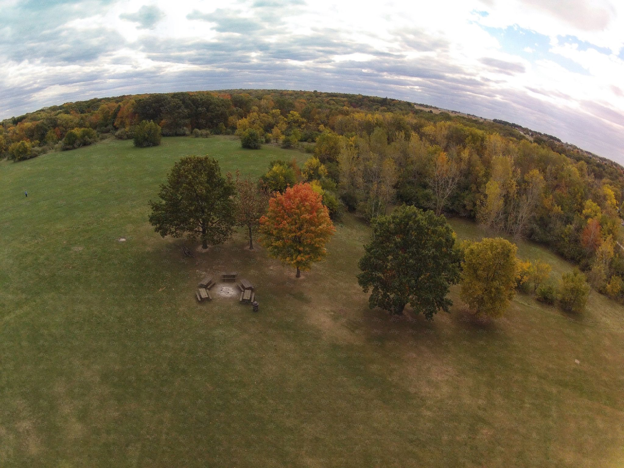 Fall Colors over Kankakee County